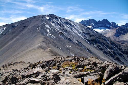 Peak 3994m from Kid Mountain