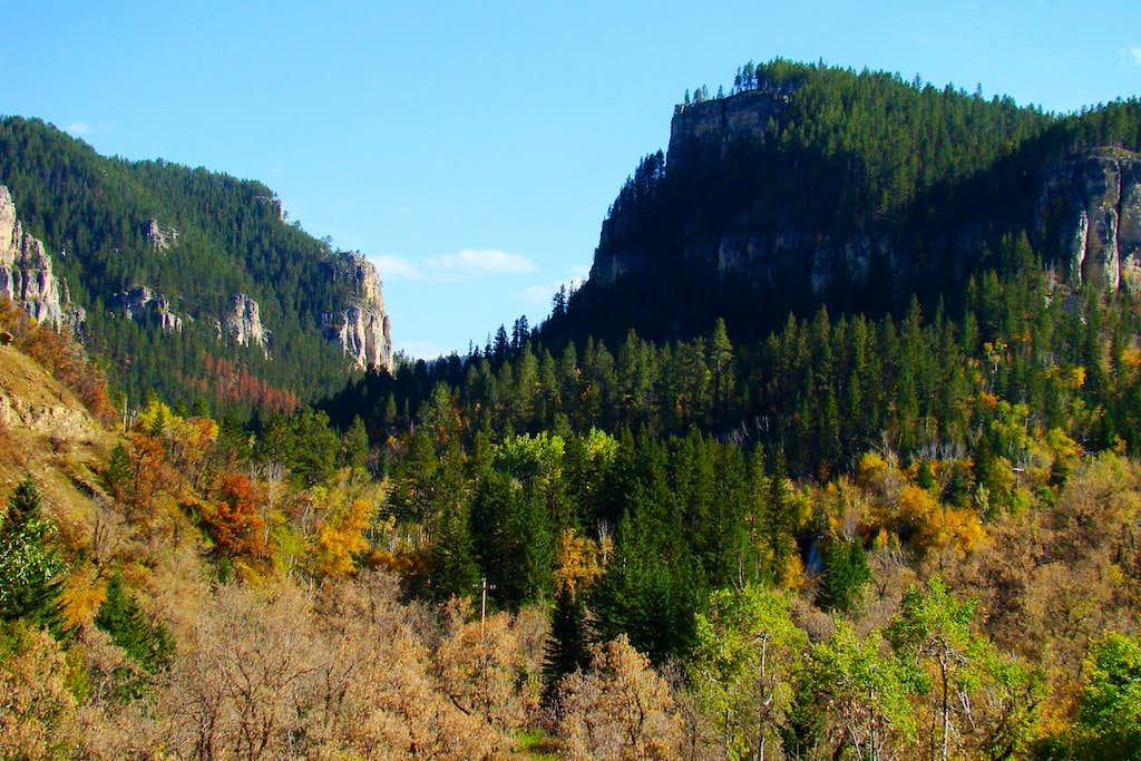 Spearfish Canyon Autumn