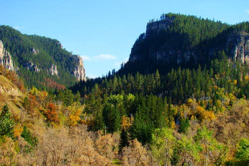 Spearfish Canyon Autumn