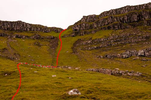 The Storr - North Face Route
