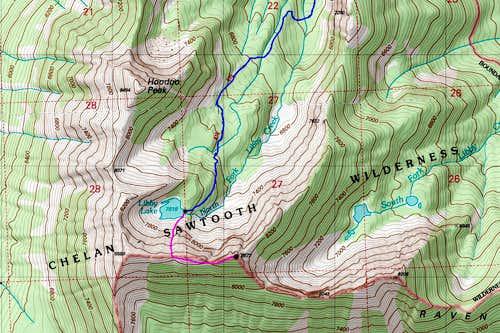 Raven Ridge Topo Map