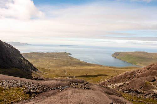 Loch Brittle from Sgurr Alasdair route