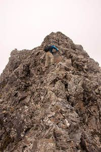 East Ridge on Sgurr Alasdair