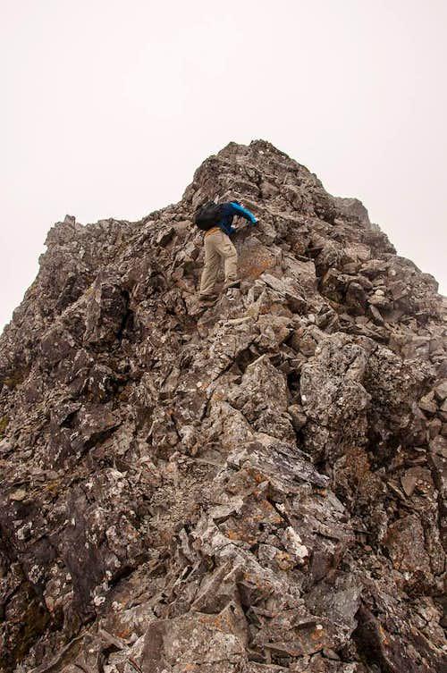 East Ridge on Sgurr Alasdair
