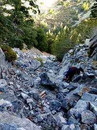 Scramble in Icehouse Canyon