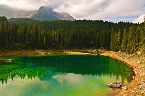 Karersee lake / Lago di Carezza