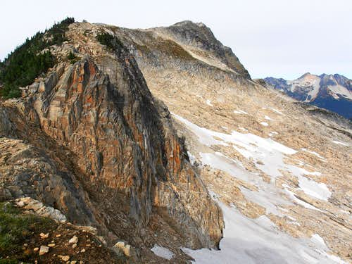 Copper Mountain moraine slabs