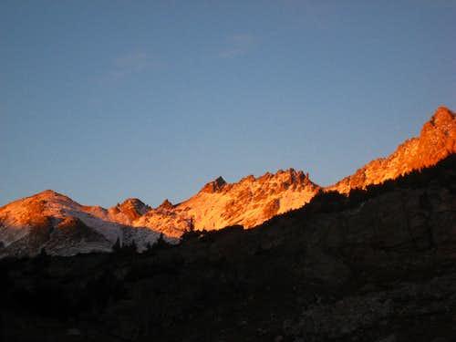Sunset on Point 12,540