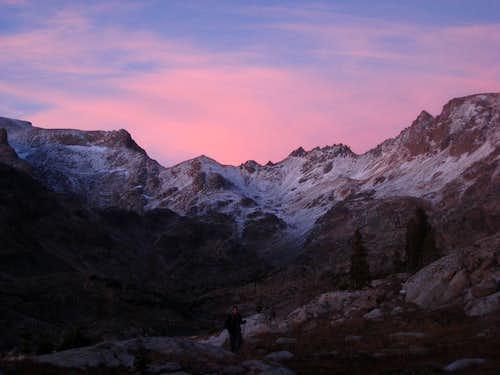 Sunset over the Beartooths