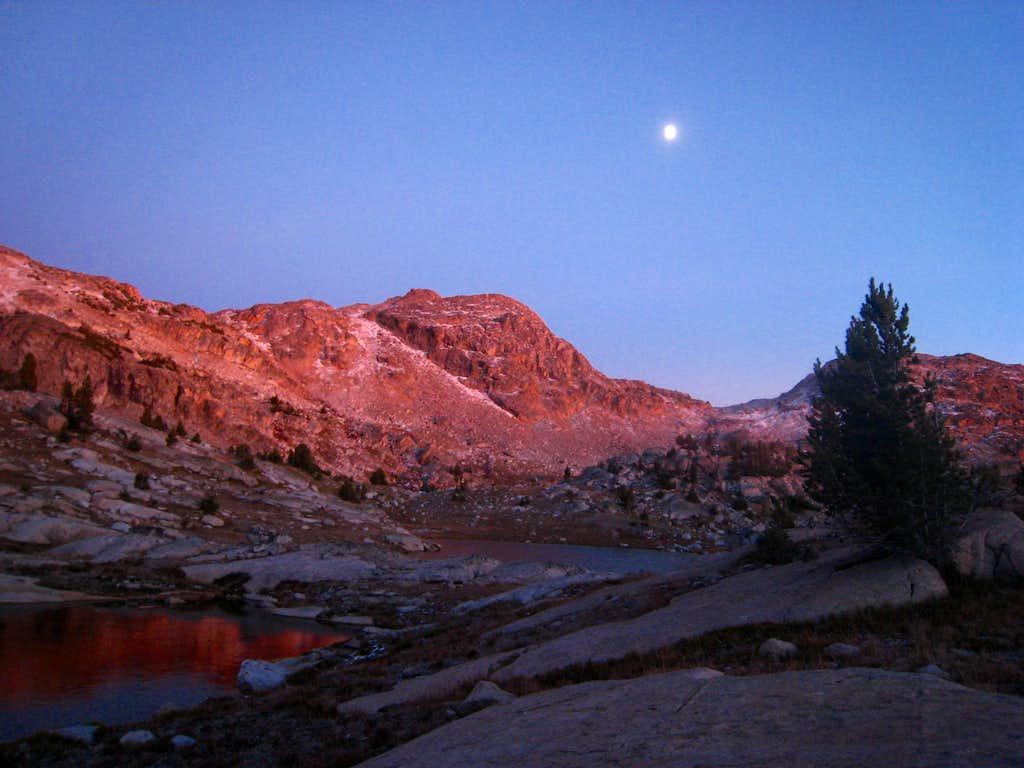 Twilight near Crystal Lake