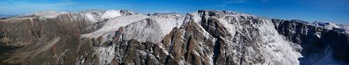 Snowbank Mountain summit view