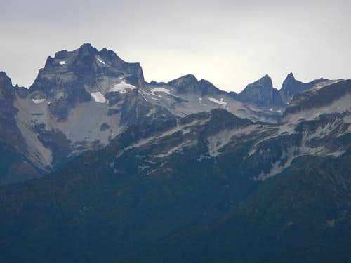Mount Redoubt and Mox Peaks