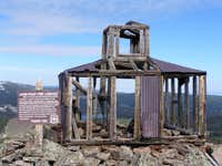 The summit Fire Lookout