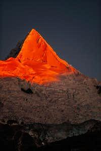 Alpamayo Sunset