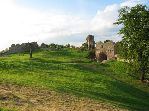 The ruins of Šariš Castle