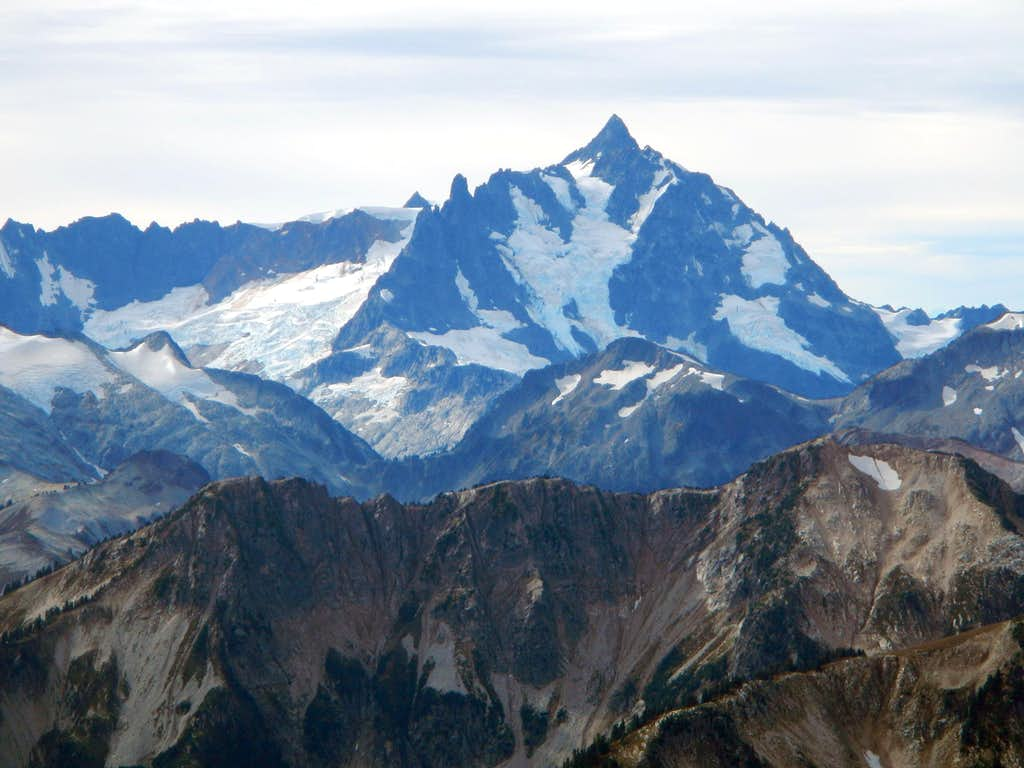 Nooksack Tower and Mount Shuksan