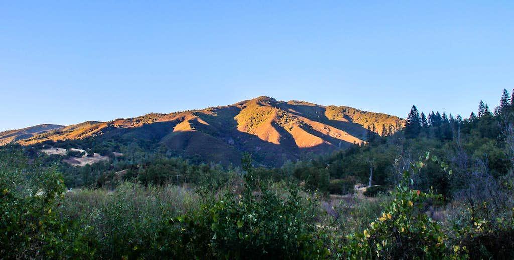 Sunset on Elk Mtn.
