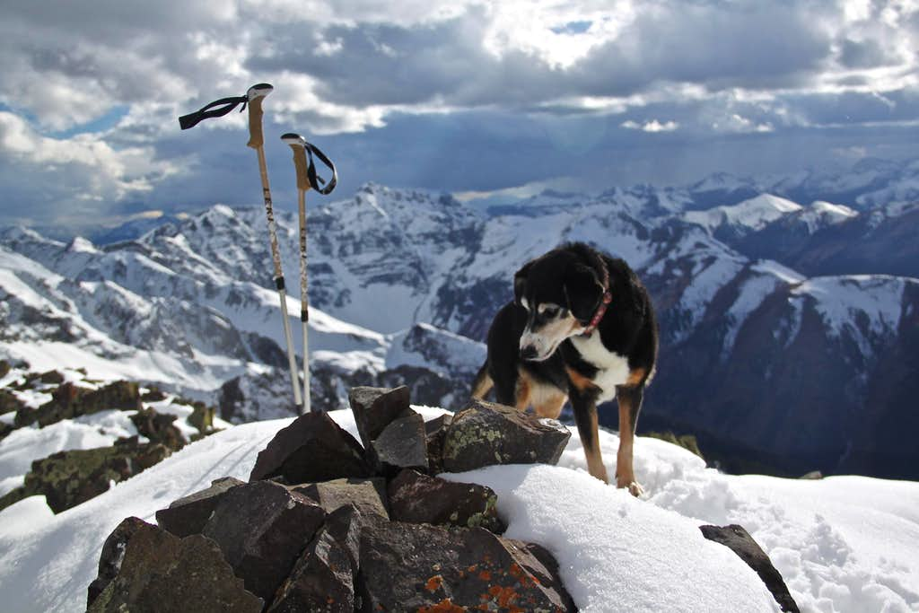 Summit of Bonita Peak