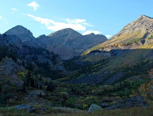 Peaks over Broads Fork