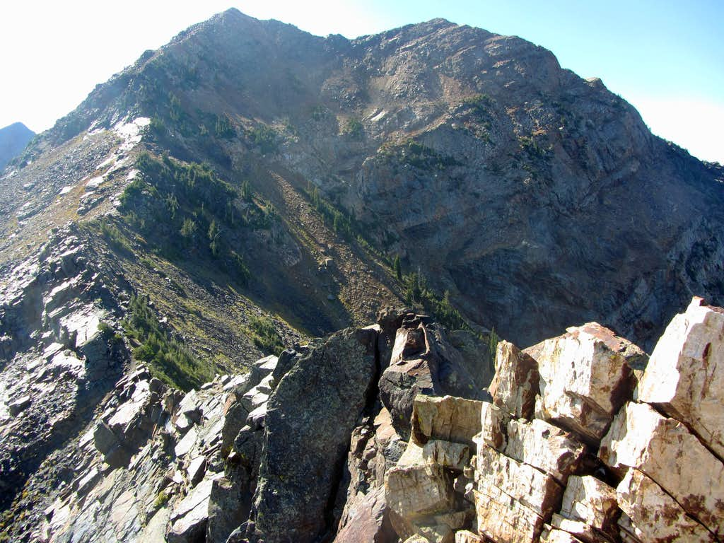 North Ridge route