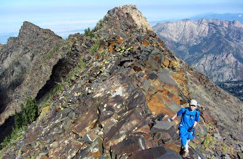 Fun north ridge