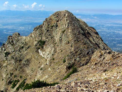 Twin Peaks west summit
