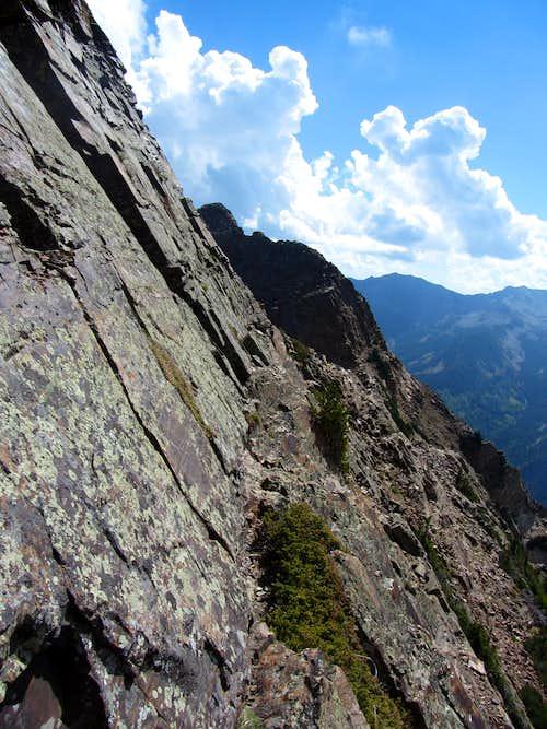 Twin Peaks ledge