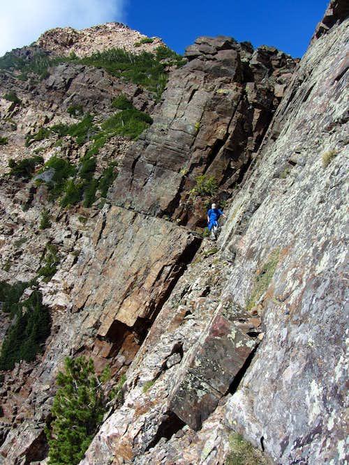 Twin Peaks & ledge