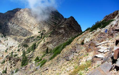 Twin Peaks from below Jepsen's Folly