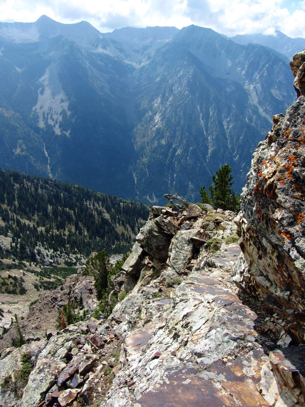 Sunrise Peak ledge