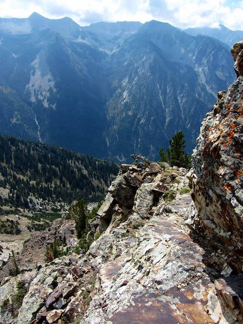 Sunrise Peak ledge