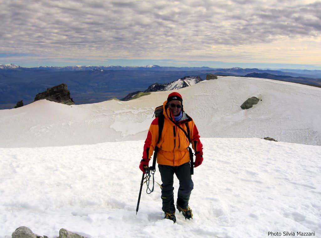 Summiting Nevado Chachani
