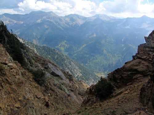 Alpine Ridge from top of Tanners Gulch