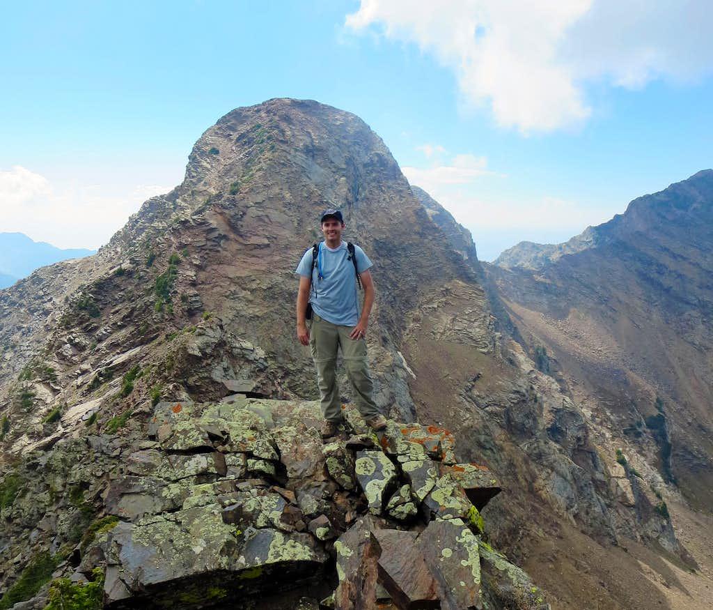 Back on Dromedary west ridge