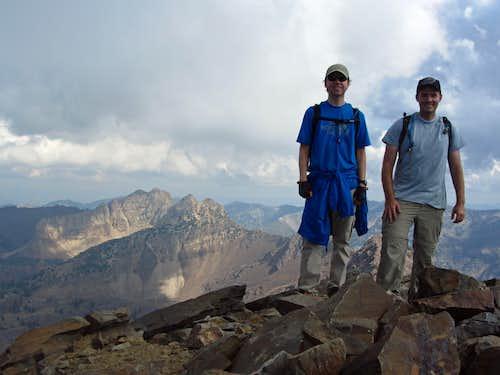 Dromedary summit shot
