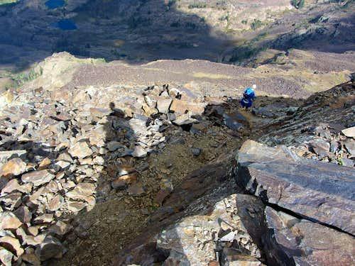 Dromedary summit descent