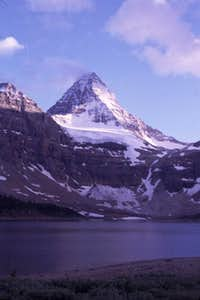 Mt. Assiniboine and with Lake...