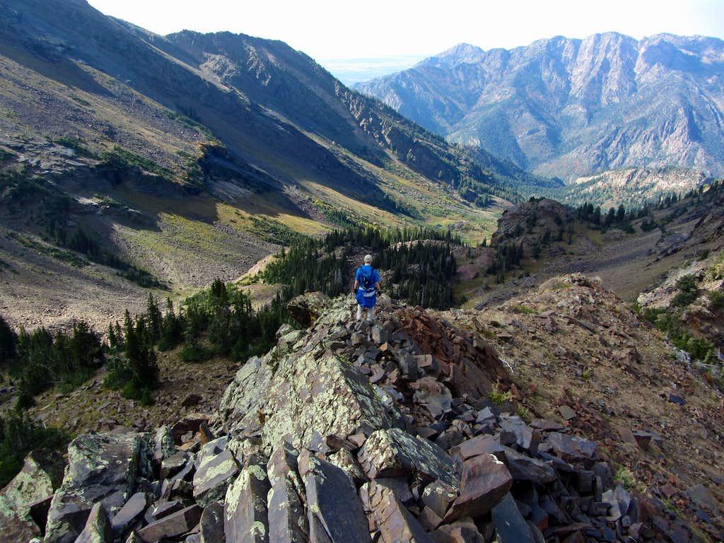 North ridge views