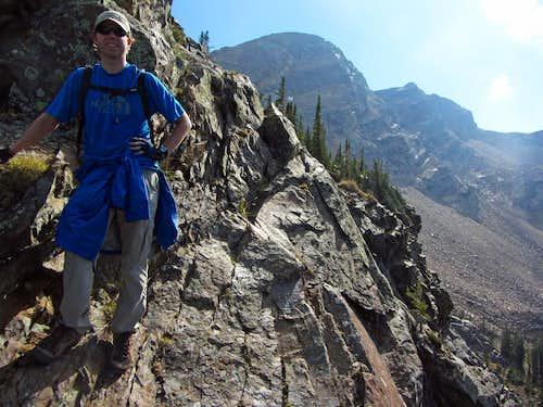 David on north ridge