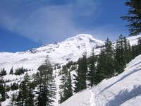 Mt. Baker viewed from the...