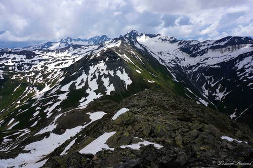 View towards Uri & Leckihorn