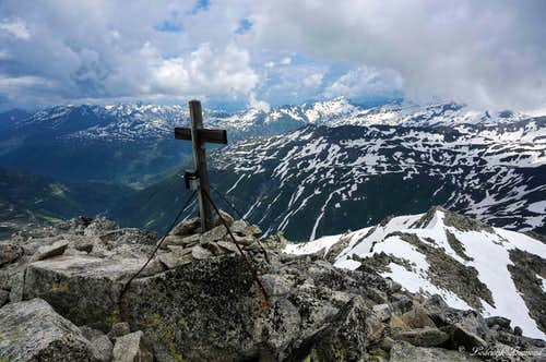Furkahorn Summit Cross