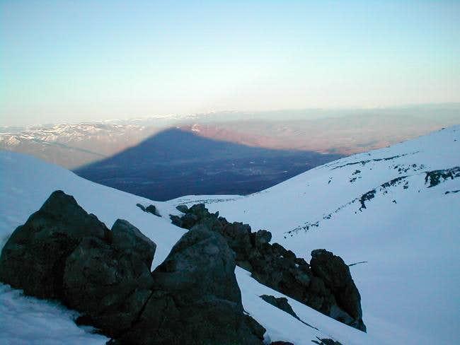 Begining of the Casaval Ridge...