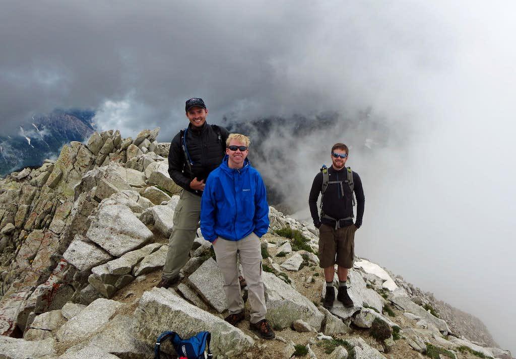 Pfeifferhorn summit shot