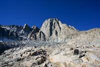 Mount Sill Below Glacier Gap