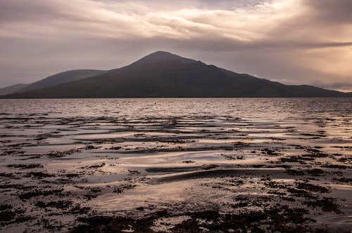 Sgurr na Coinnich across Loch Alsh