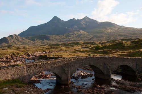 Sgurr nan Gillean and the River Sligachen