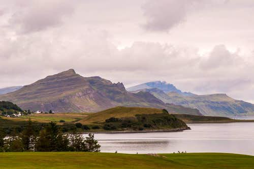 The Trotternish from Portree