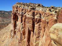 Cliffs Above Scenic Drive