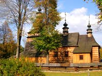 The Greek Catholic Filial Church in Ropica Górna - Wooden Architecture Route in Małopolska